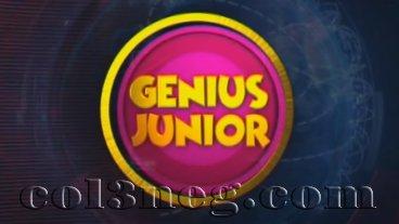 Genius Junior 14-05-2021