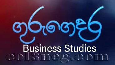 Guru Gedara - Business Studies (A/L)