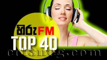 Hiru FM Top 40 - 16-01-2021