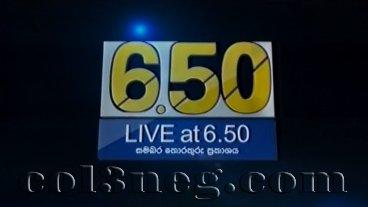 Live at 6.50 - 10-04-2021