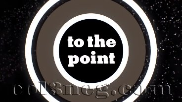 To The Point Episode 8